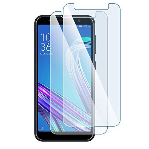 Karylax Bildschirmschutzfolie aus Glas, flexibel, Festigkeitgrad 9H, ultradünn, 0,2 mm & 100 prozent transparent, für Smartphone Meizu M3 Max [Pack x 2]