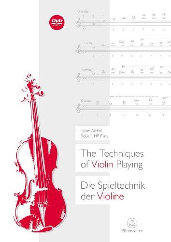 Die Spieltechnik der Violine (+DVD) (en/dt)