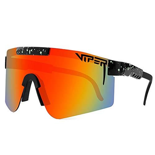 DUXIUYING Gafas de Sol, Gafas de Ciclismo al Aire Libre Gafa