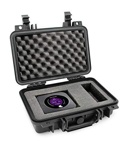 Casematix wasserdichte Reisetasche für Netgear Nighthawk M1 Mobile Hotspot Router MR1100 und Zubehör, luftdichter Aufprallschutz