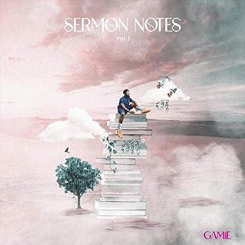 Sermon Notes, Vol. 1