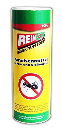 AMEISENMITTEL 600g Pulver Streumittel Gießmittel Ameisenabwehr Ameisenstop gegen Ameisen 51