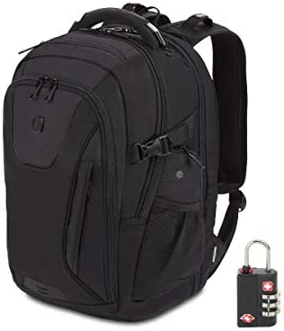 SWISSGEAR 5358 Ultimate Protection USB TSA Friendly ScanSmart Laptop Backpack and Cable Lock product image