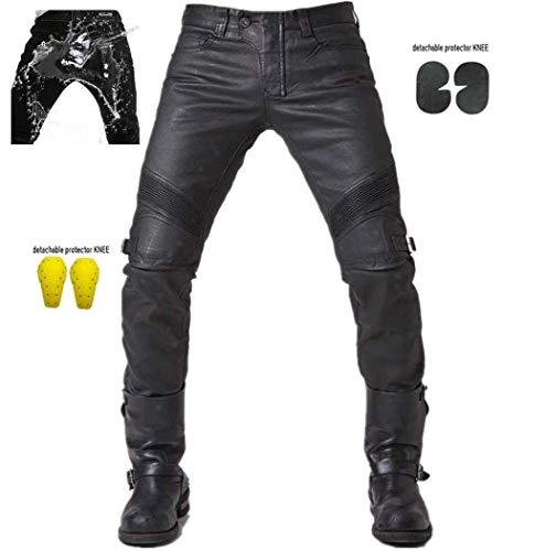 Nerve Easy Rain Pantalones Impermeables de Moto Negro XS