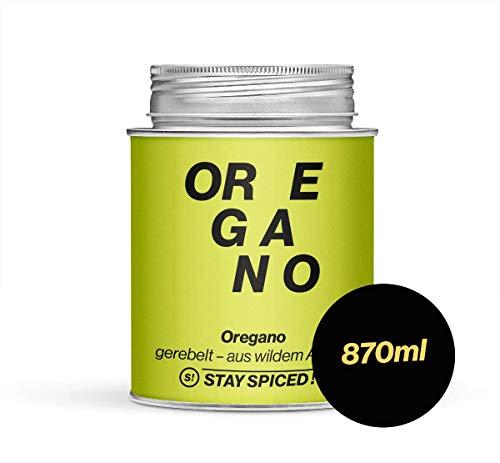 STAY SPICED ! Oregano I Reingewürze I Edler Wildanbau aus der Türkei I 870 ml
