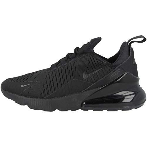 Nike W Air Max 270, Chaussures de Running Compétition Femme, Noir (Black/Black/Black 006), 37.5 EU
