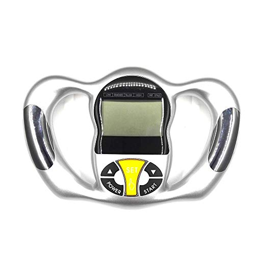 PEXWELL Calibrador de Grasa Corporal Digital, Escala de Grasa Corporal Lcd Digital Peso de Mano Grasa Corporal Agua Herramienta de Detección de Masa Muscular Medidor de Grasa Escala Analizadora
