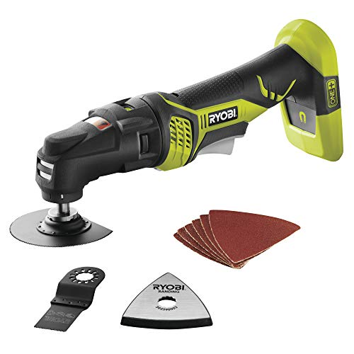 Ryobi P340 One+ 18V Lithium Ion JobPlus Cordless Multi Tool with 3 Attachment Heads (P570 and P246 Parts Only, Battery Not Included)