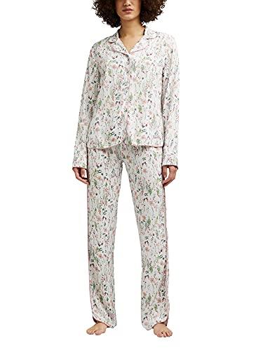 ESPRIT Blumen-Pyjama aus LENZING™ ECOVERO™
