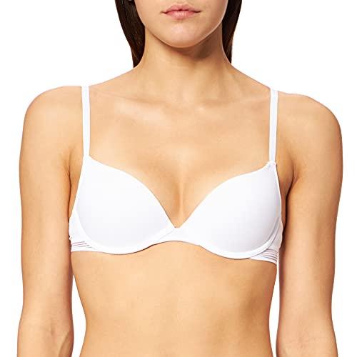 Esprit Gladstone Sexy Sujetador con Push-up, Blanco (White 100), 85B (Talla del Fabricante: 70 B) para Mujer