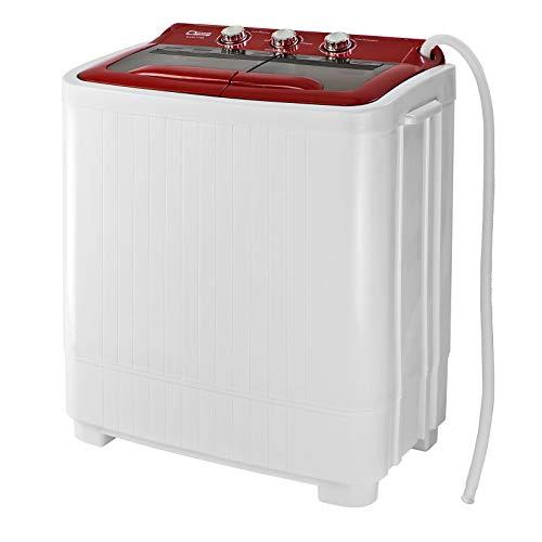Mini - Waschmaschine Single Camping DMW4 4 kg 230 V Drehzahl schleuder 1300 U/min 2 Waschprogramme