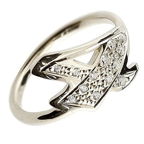 [アトラス]Atrus リング メンズ pt900 プラチナ900 キュービックジルコニア ナンバー4 指輪 数字 ストレート 29号