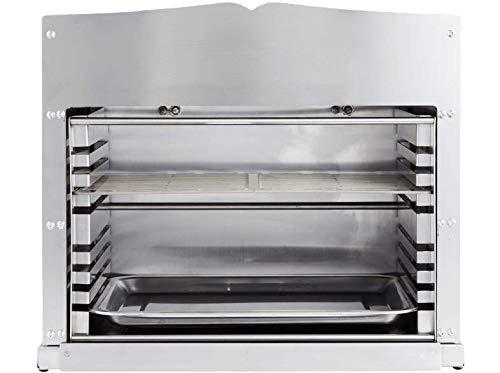 Dangrill Power Burner Pro 88171 Gasgrill 2 Keramikbrenner 800°, Beefsteak Grill