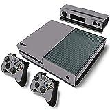 AXDNH Juegos Completos De Pegatinas De Piel para Consola Xbox One Y Controladores para Xbox One Películas Protectoras De Piel Calcomanías De PVC, Diseño De Grano De Madera,0211