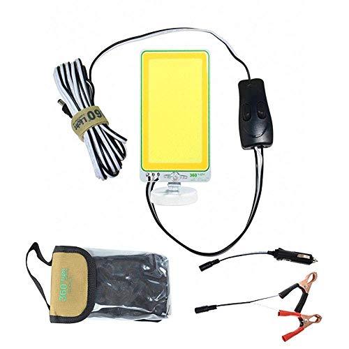 RONGW JKUNYU DC12V 150W COB LED Que acampa Portable al Aire Libre la Noche Colección de luz en Color Dos de Pesca Camino del jardín del Coche LED de luz de Camping
