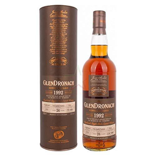 Glendronach The GlenDronach 26 Years Old SINGLE CASK by LMDW Highland Single Malt Scotch Whisky 1992 Whisky (1 x 0.7 l)