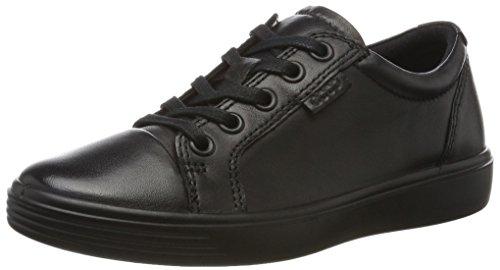 ECCO Unisex-Kinder S7 Teen Sneaker, Schwarz (Black/Black), 34 EU