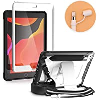 Braecn iPad 7th generation Case with Pencil Holder