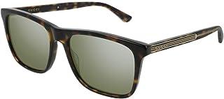 غوتشي GG0381S نظارة شمسية مربعة للرجال والنساء+مجموعة مجانية للعناية بالنظارات