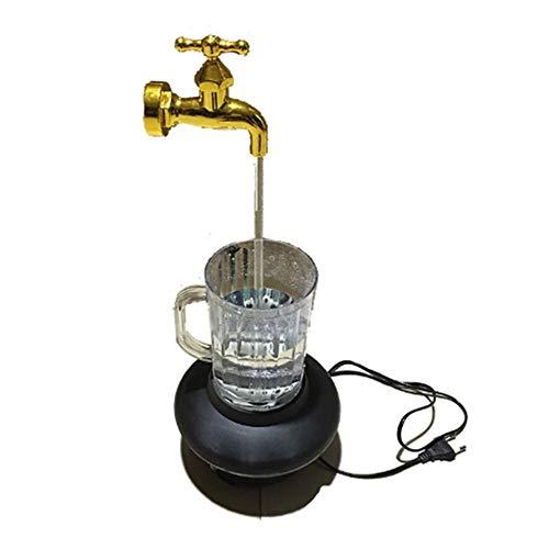 winchance Taza mágica del Grifo del LED Fuente Colorida Colorida de la Fuente de Agua Flotante del Grifo de la Noche