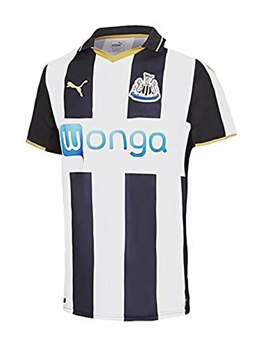 Puma Herren Trikot Newcastle Home Replica Shirt, Black-White-Victory Gold, M, 750012 01