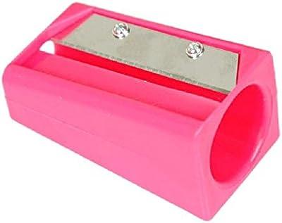 Magnusdeal Carrot Sharpener Peeler Kitchen Gadget Tool Vegetable Fruit Curl Slicer,1 Pcs Pink Color