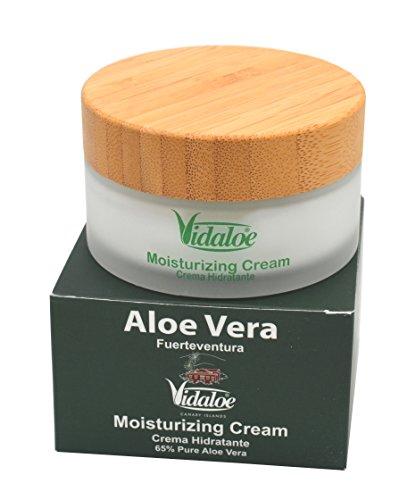 Vidaloe Feuchtigkeitscreme mit Aloe Vera und Olivenöl, 100ml