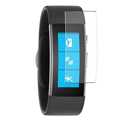 Vaxson 3 Unidades Protector de Pantalla, compatible con Microsoft Band 2 smartwatch Smart Watch [No Vidrio Templado] TPU Película Protectora