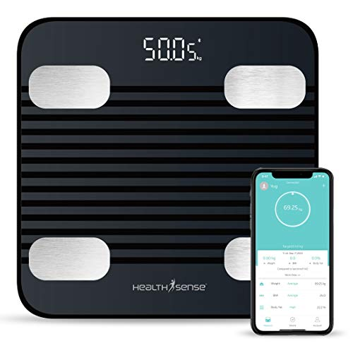 HealthSense Fitdays BS 171 Smart Bluetooth Body Weighing...