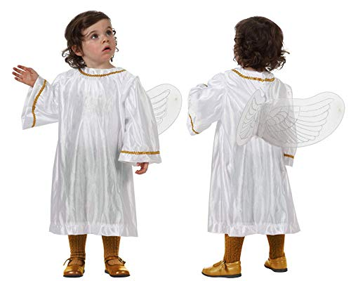 DISFRAZ ANGEL BLANCO BEBÉ