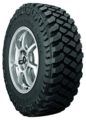 Firestone Destination M/T2 Max Traction Truck & SUV Tire 35X12.50R18LT 123 Q E