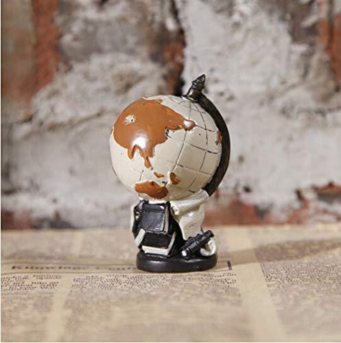 JESSIEKERVIN YY3 L'étude Home Living Room illumine Un rétro Globe. (Color : Multicolor, Size : S)