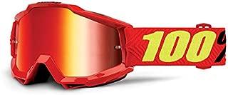 100 Percent ACCURI Goggle Saarinen - Mirror Red Lens