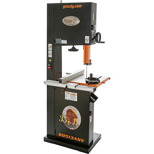 Grizzly- The Best 17-Inch Bandsaw Anniversary Edition