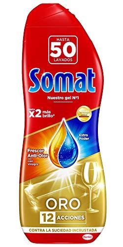 Somat Oro Gel Lavavajillas Vinagre: 50 Lavados