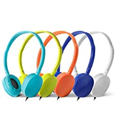 LONG CORD LENGTH: 4 Feet Cord Bulk Headphone Can Fit Most Customers Requirements; No Microphone Headphone INDIVIDUAL PACKAGE: Bulk Earbud Packed by Kaysent Carton,each headphone Packed by 1 Individual Plastic Bag and Sealed SOFT RUBBER EAR CUSHIONS: ...