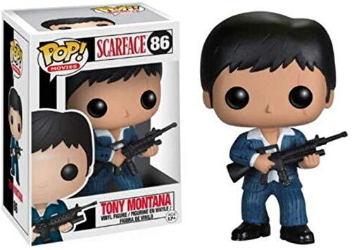 JANBLICA Pop Vinyl Pop Scarface - Tony Montana Sammeln von Spielzeug Vinylfigur Multicolour 86#