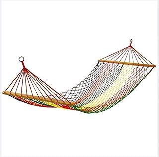 Hamaca al Aire Libre compartida Cubierta para Adultos oscilación Dormir Hamaca compartida de múltiples Funciones 200 * 80cm