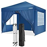 Best Beach Canopies For Parties - 10x10 FT Outdoor Portable Canopy Tent with Sidewalls Review