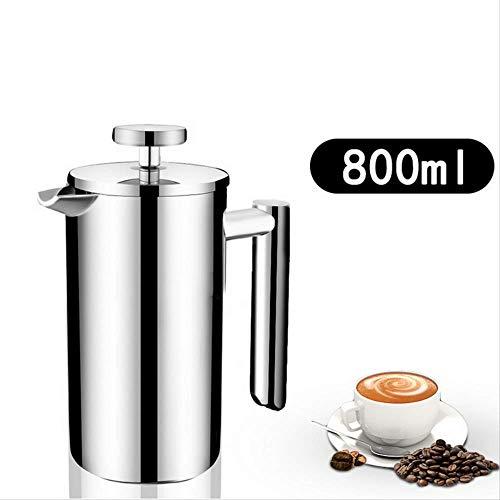Koffie Thee gieten Ketel Geïsoleerde Roestvrij Staal Franse Persen Koffiemachine Beste Dubbelwandige Pot