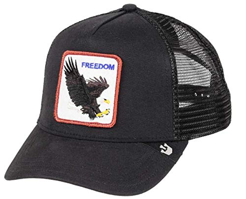 Goorin Bros. Men's Animal Farm Snap Back Trucker Hat, Black Eagle, One Size