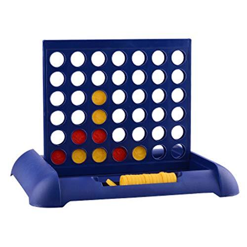 Spielzeug Lernspielzeug Kinderspielzeug Explosive Vier Männer Schach Dreidimensionale Fünf Männer Vier Brettspielspielzeug 4 in einem Schlankes Design Tabletop Brettspiel mit Carrying Color Box Coin