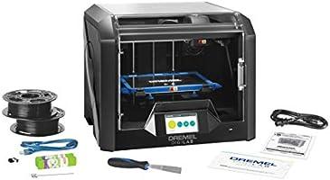 Dremel Stampante 3D 3D45, per Filamento in PLA, Nylon, Eco-ABS, PETG, con Display Touch a Colori, in Confezione di Cartone