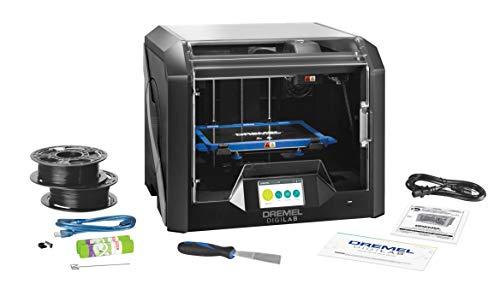 Dremel DigiLab 3D45 3D Drucker (mit WLAN, PLA Nylon Eco-ABS und PETG Filament 1,75 mm kompatibel, Druckgröße 254 x 152 x 170 mm, 50 Mikron Auflösung, Beheizte Druckplatte, Slicing Software)