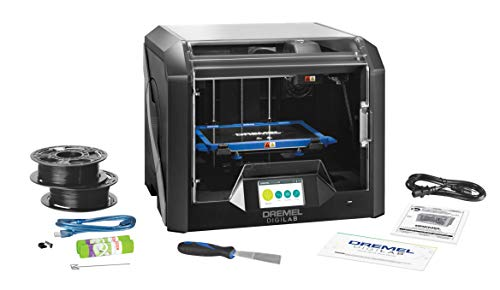 Dremel Digilab 3D45 Award Winning 3D Printer with Heated Build Plate, High Build Volume (254 x 152 x 170 mm) to print 1.75 mm PLA, Nylon, Eco ABS and PETG Filament at 50 Micron Resolution