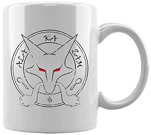 Anime Personaje Invocación Taza Blanca De Cerámica Hogar De Oficina De La Taza Del Agua Té Café White Ceramic Mug