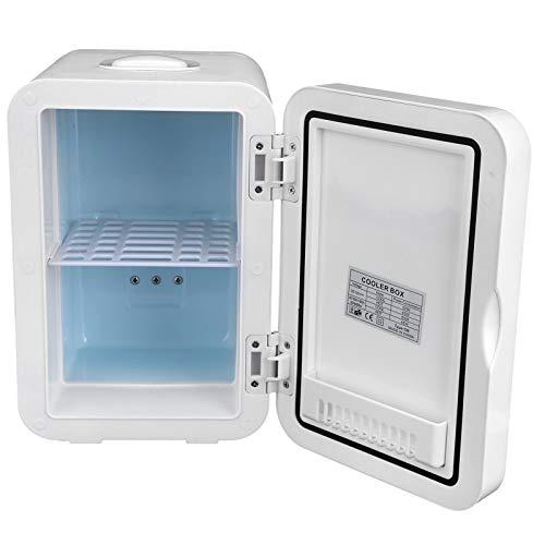 Cerlingwee Refrigerador para automóvil de diseño Multicapa, Calentador de refrigerador para automóvil, Puerta única(European Standard 220V)