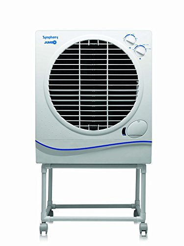 Symphony Jumbo 51-Litre Air Cooler (White)-For Large room