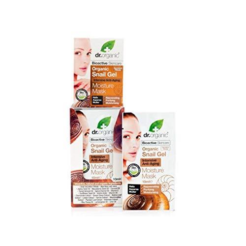 Dr. Organic Masque Hydratant au Gel d'Escargot Bio 10 ml