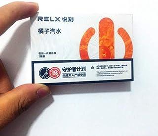 《正規品》RELX replacement pods 3pcs 悦刻一代替换烟弹3颗装多种口味 電子タバコリキッド 選べる味が多数在庫 (橘子汽水 ミカン ソーダ)